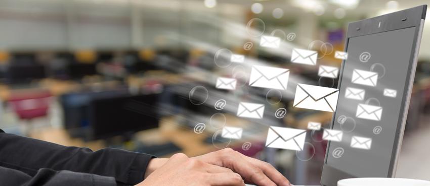 Illustration campagne e-mail marketing