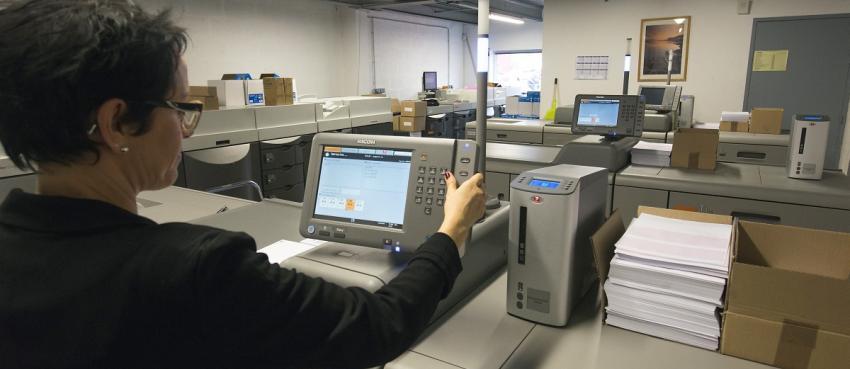 Une imprimerie numérique dédiée au publipostage