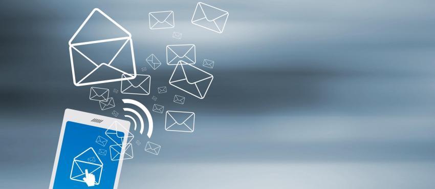 Illustration opération marketing par sms
