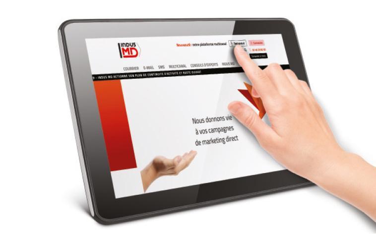 Tablette plateforme multicanal